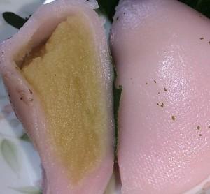 奈良井宿柏餅8