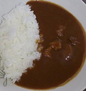 豚角煮カレー2