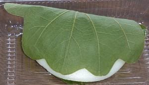 奈良井宿柏餅2