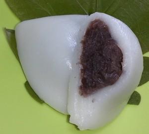 奈良井宿柏餅4