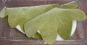 奈良井宿柏餅3