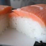 美味しいもの探検 成城石井サーモン押し寿司